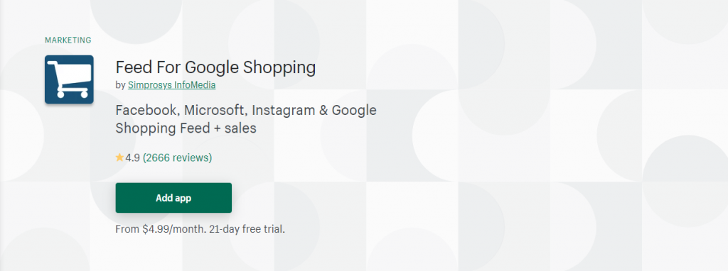 Best Shopify Apps for Product Feeds - Feed For Google Shopping
